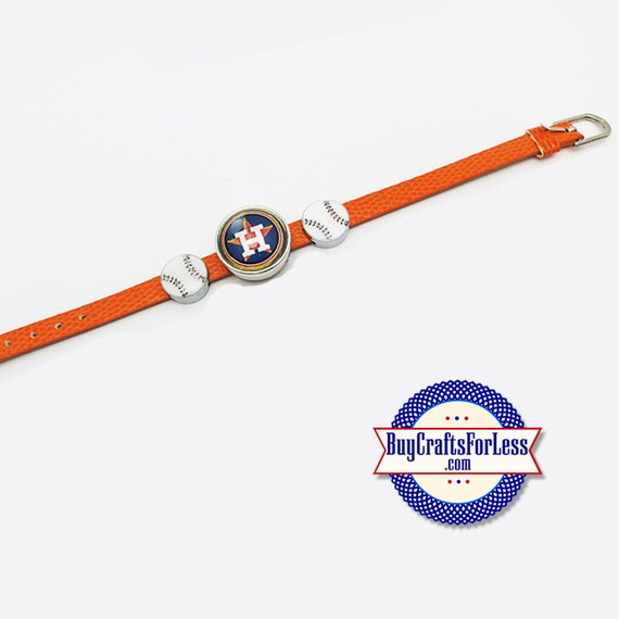 HOUSTON Baseball BRACELET, CHooSE Bracelet, CHooSE Design - Great GIFT for You!  +FReE SHiPPiNG & Discounts*