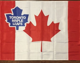 Toronto Maple Leafs Canadian Hockey Team Flag 3 x 5 Banner Sign Canada