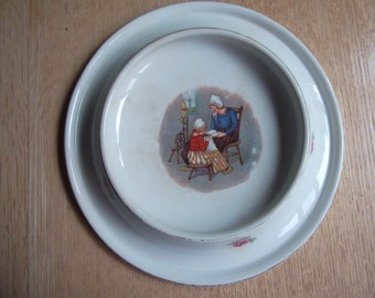 Royal Baby Plate, beautifully illustrated, made in USA