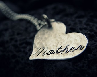MOTHER My Heart Is For YOU My Dear - Stamped By Simag