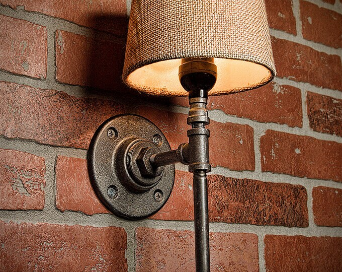 Farmhouse Lighting  - Rustic Light - Bathroom Industrial Light - Bar Light - Industrial Sconce - Sconce - Wall Light - FREE SHIPPING