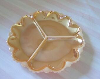 Vintage Anchor Peach serving platter / serving plate Peach Anchor