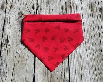 Red Mickey Bandana