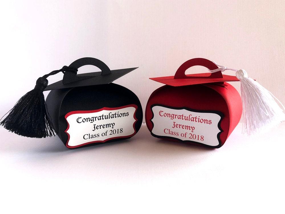 Personalized Graduation Favor Boxes Graduation Gift Boxes