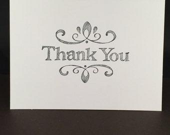 Ornate Thank You Card