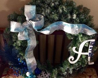 Winter Pine Wreath