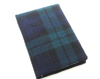 Tartan Journal, Handmade Sketchbook, 4 x 6 book, Hardbound Diary, Scottish Tartan Book, Gift for Writers, Gift for Artists, Gift for Scots