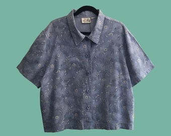 """Shirt 1 Series """"casually chic"""" vintage oversize 90s denim"""