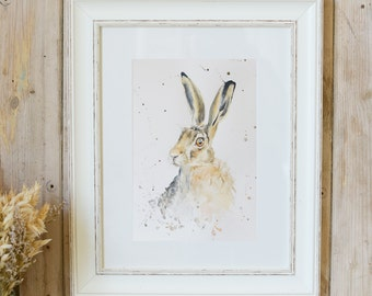 Limited Edition Hector Hare print