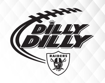Dilly Dilly Oakland Raiders svg,dxf,png/Oakland Raiders clipart