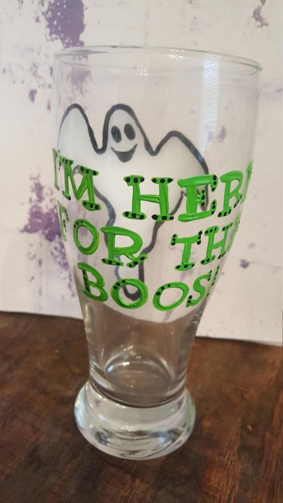 Halloween pub glass