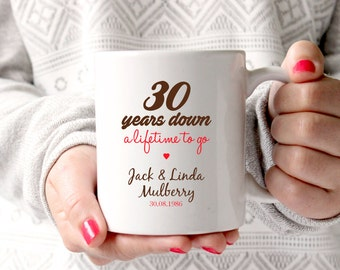 thirty year anniversary gift ideas