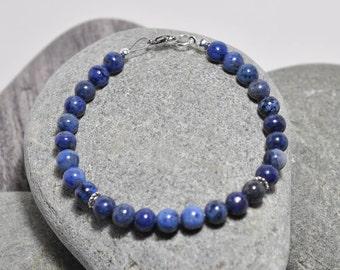 Dumortierite Healing Intention Bracelet