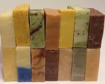 8 (42 CHOICES) Wholesale Vegan/Organic Soap Loaves