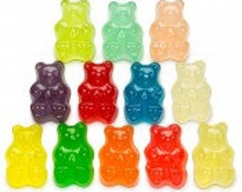 Gummy Bears 12 flavor (3 lb )