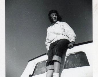1953 Boat Girl