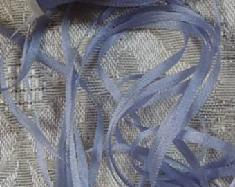 Gorgeous 2mm silk ribbon Lavender  5 yards Color 579