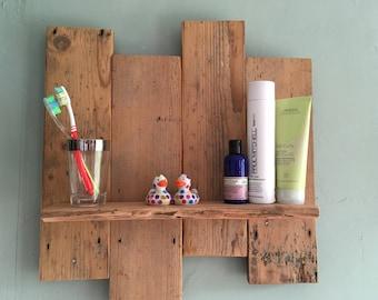 Reclaimed wooden shelves - made to order