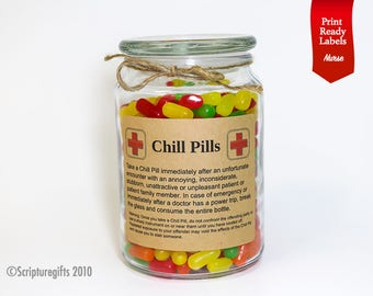 Funniest Personalized Chill Pills for Nurses