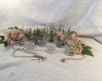 Clear Beverage Glasses