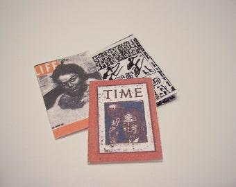 Set of Three Mini Magazines