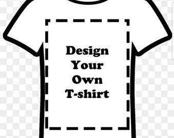 Custom Vinyl Design Tshirt Canvas Brand