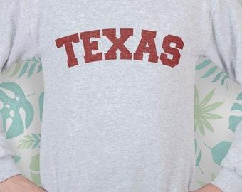 Sweatshirt Texas Texas clothes sweatshirt women sweatshirt for girls sweatshirt men sweatshirt for women sweatshirt for men sweater EDS_249