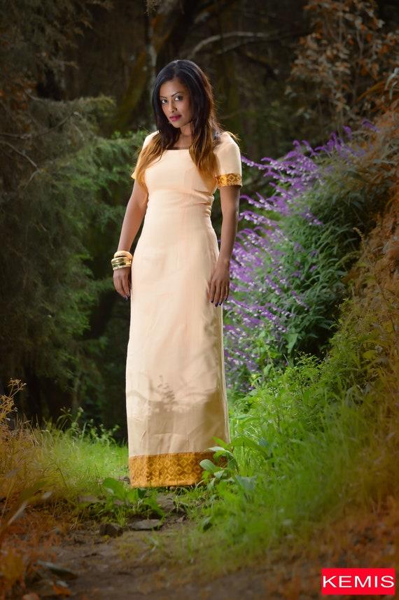 Lange Pfirsich Kleid / Pfirsich Maxi Kleid / modernen