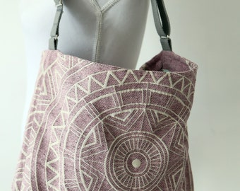 Old-Pink soft Chenille bag