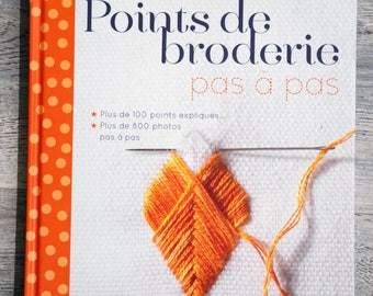 NEW - Book step by step embroidery stitches