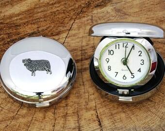 Aries The Ram Alarm Clock Portable Quartz Horoscope Gift