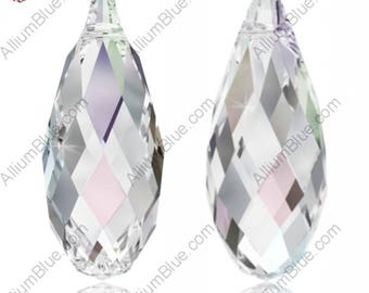 Swarovski 6010 - Briolette Crystal Pendant
