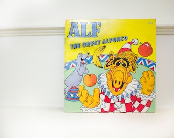 ALF The Great Alfonso children's book - Vintage /Great shape/ Original