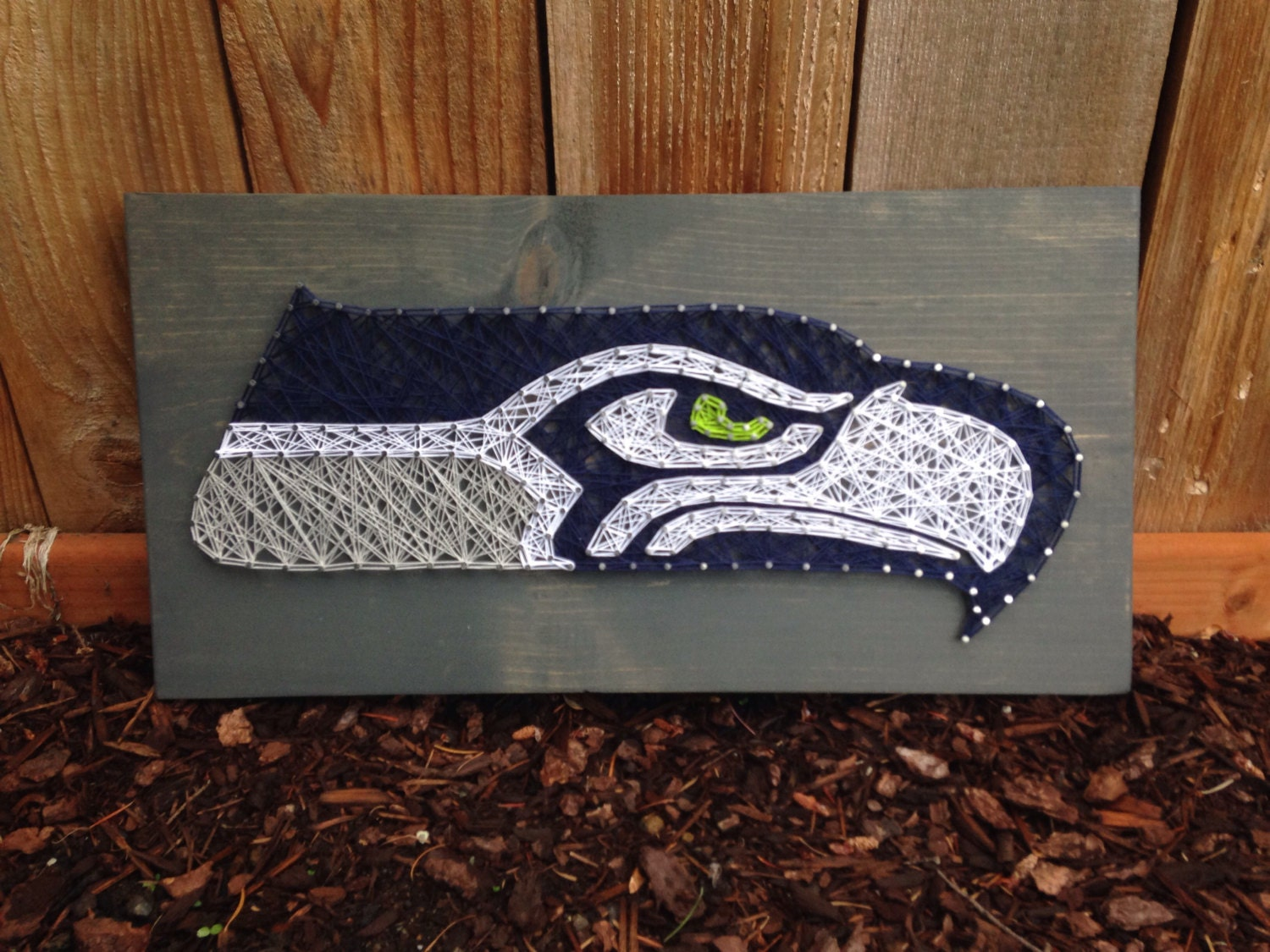 MADE TO ORDER Seahawk String Art