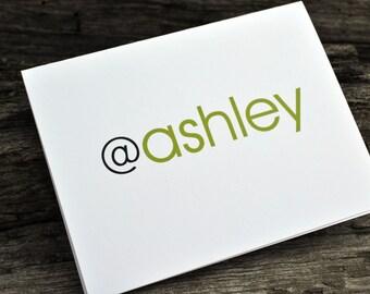 Personalized Stationery Set / Personalized Stationery / Personalized Notes / Thank You Note Card / Personalized Thank You Note