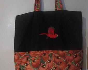Cardinal Tote Bag Shopping Bag Diaper Bag