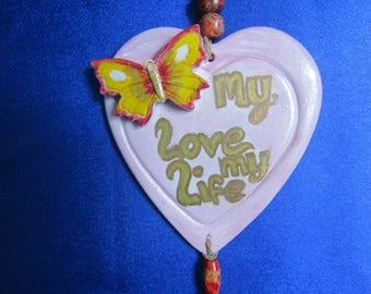 Valentine love Hearts .My Love my Life .