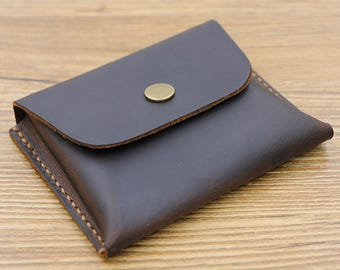 Large-Capacity Card Wallet, Leather Card Holder, Business Card Holder, Leather Coin Wallet, Coin Purse, Leather Wallet, Cardholder Men