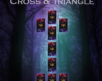 Cross & Triangle Spread - Tarot Card Reading
