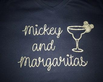 Mickey and Margaritas t-shirt