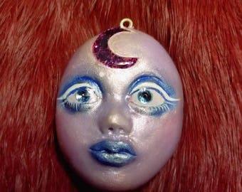 Purple Moon Starchild Necklace