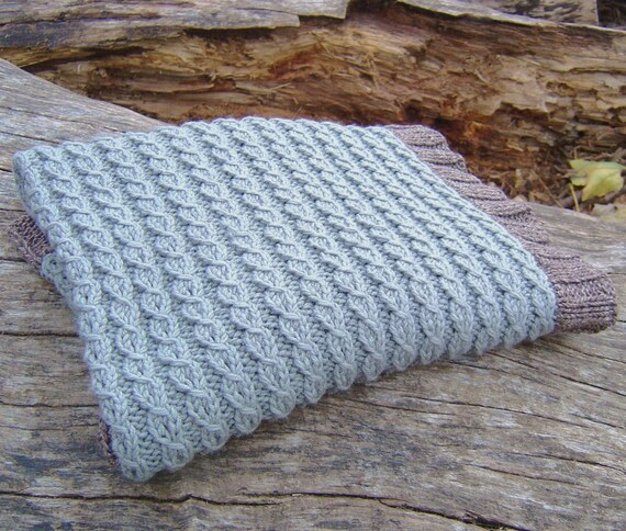 Knitting Pattern Baby Blanket Easy Mock Cable Blanket Digital