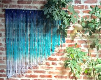 Macrame Wall Hanging - on dowel rod
