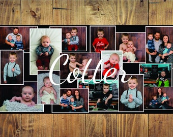 Wall Decal - Wall Decorations - Vinyl Decal - Vinyl Graphics - Family Photo