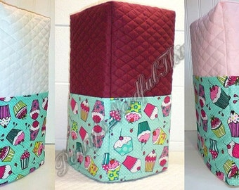 Teal Cupcake Coffee Maker Cover (4 Options Available)