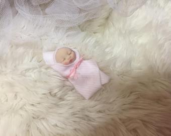 Dollhouse Mini Bundle Baby,Polymer clay,SALE SALE