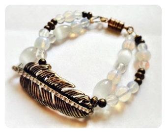 Boho Feather Bracelet
