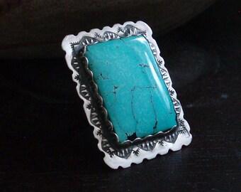 Southwestern Turquoise Ring