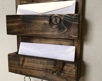 Rustic Mail\Key Holder (Double)