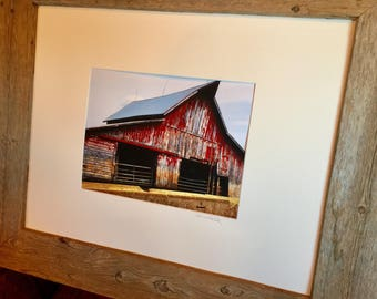 The Farm Collection: Our Red Barn by Susan A Ray of OneHealingStone Studio